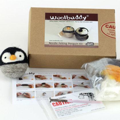 WBK-005_Woolbuddy ペンギン キット (Easy)初級者向け