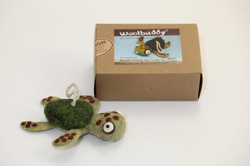 WBK-006_Woolbuddy カメ キット (Meduim)中級者向け
