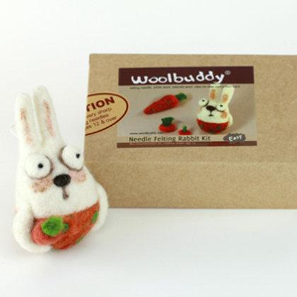 WBK-007_Woolbuddy ウサギ キット (Easy)初級者向け