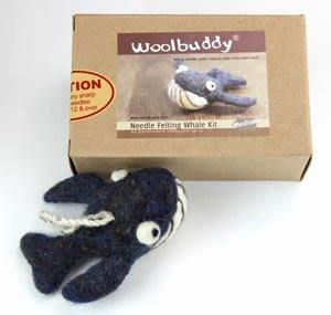 WBK-010_Woolbuddy クジラ キット (Medium)中級者向け