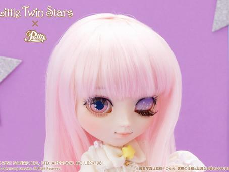 【本日より受注開始!】『Little Twin Stars』とのコラボドール☆彡第一弾は双子のお姉ちゃん