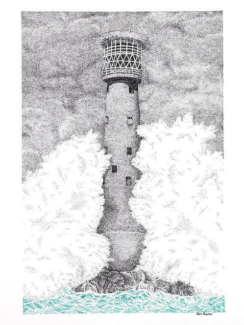 Bishop Rock Print