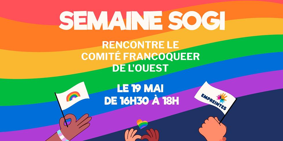 Rencontre le Comité FrancoQueer de l'Ouest 🌈 !