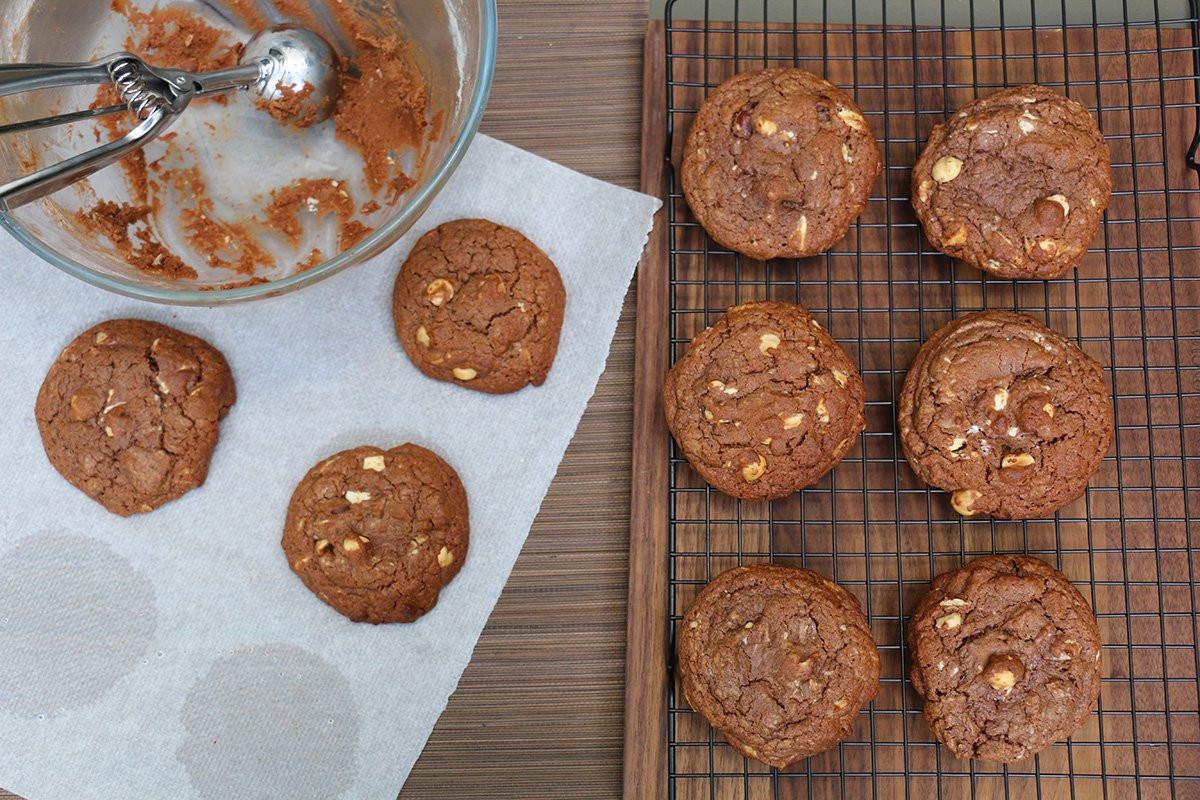Cookies Brownies chocolat noisette