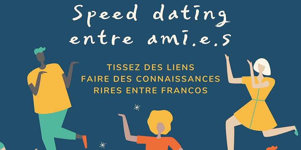 Speed Dating entre ami.e.s avec le Comité 18+