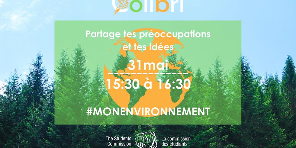 #MONENVIRONNEMENT - Partage tes idées !