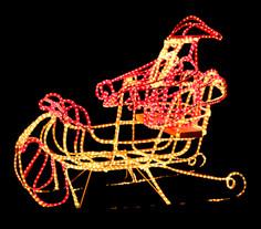 Sleigh Half-Santa - Small -  Rope 3.jpg