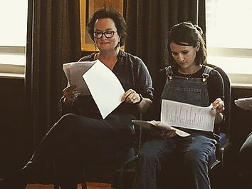 Nathalie Barclay Actress Oxford Play Reading