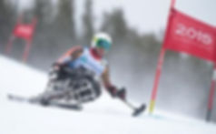Matt Ottway at Sochi Parlampics, Skiing for Disabled, Adaptive Sport, Sking, disabled