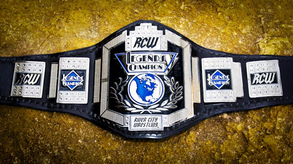 Official RCW Legends Replica Title