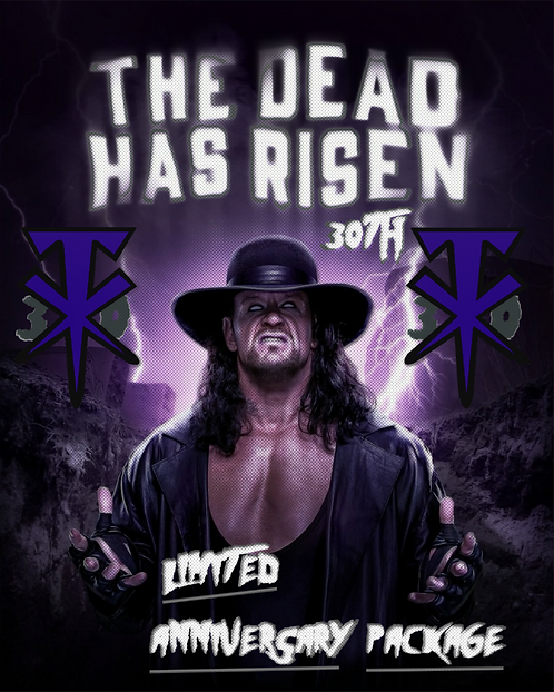 The Undertaker Limited 30th Anniversary package