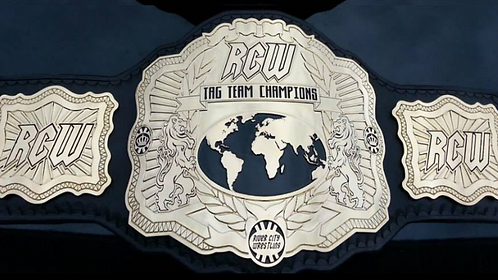 Official RCW Tag Team Replica Title