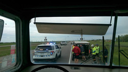 Thanks to RCMP for escort