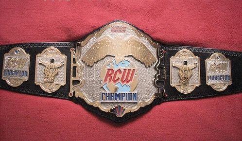 Deluxe RCW Championship Replica Title