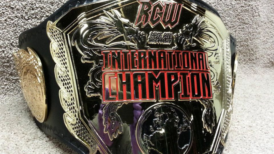 Official RCW International Replica Title