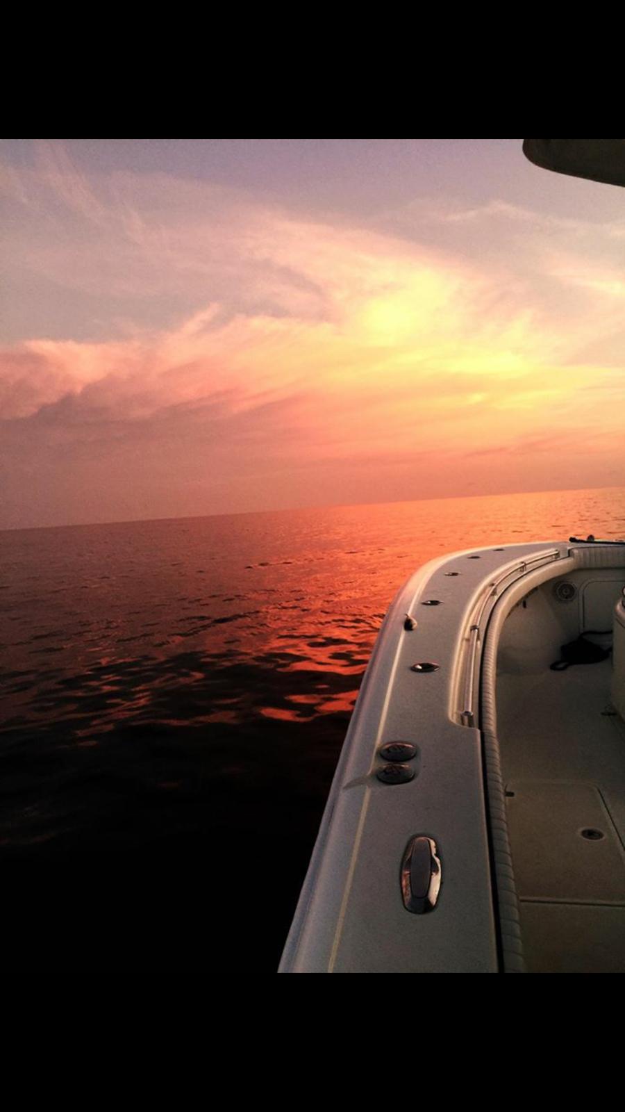 Sarasota fishing sunset