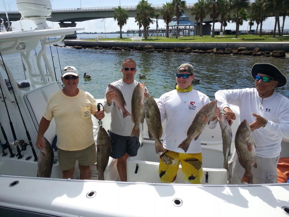 Sarasota fishing - grouper