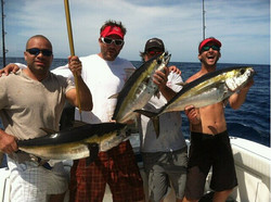 Sarasota fishing - triple tuna