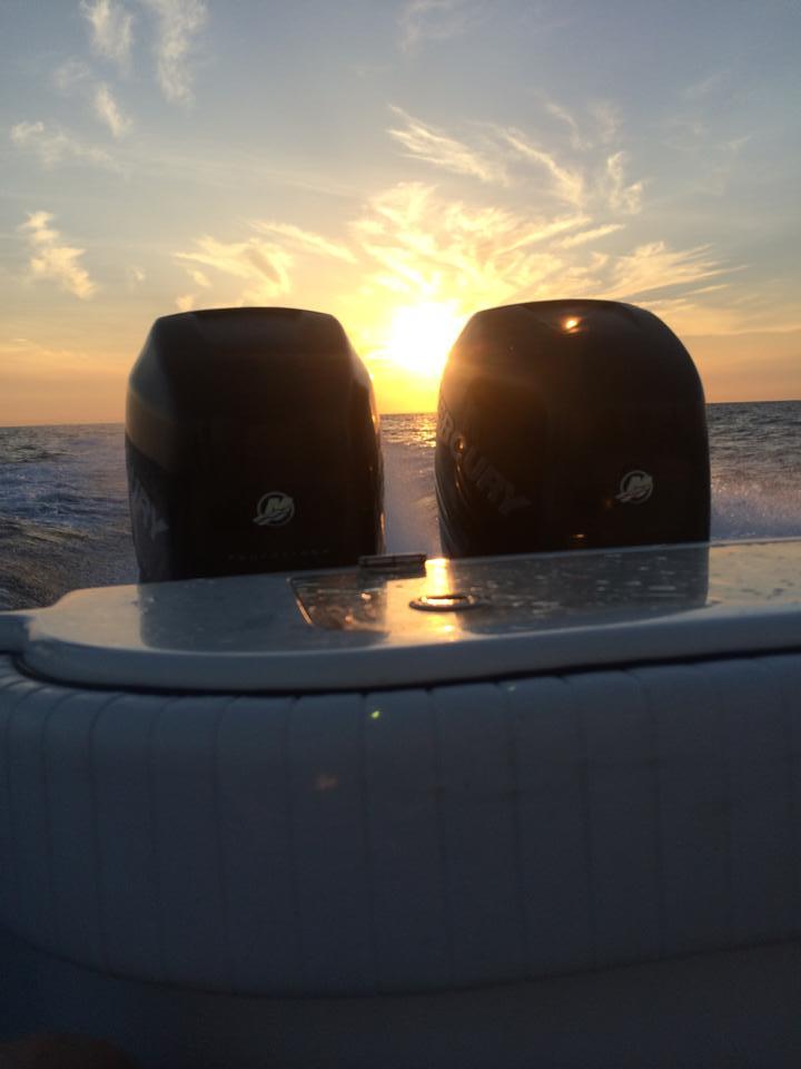 Sarasota fishing sunrise