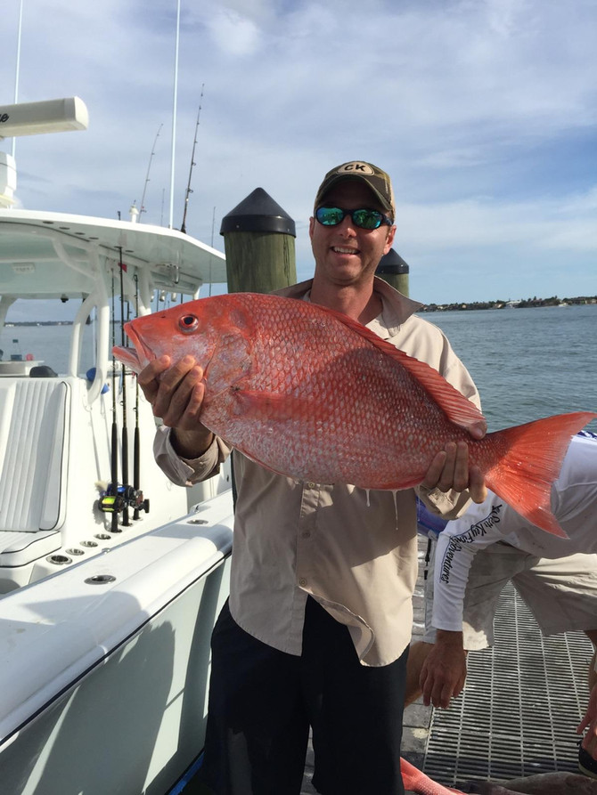 Red Snapper is Red Hot