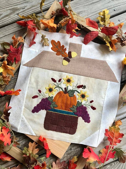 Harvest Basket (Printed Pattern)