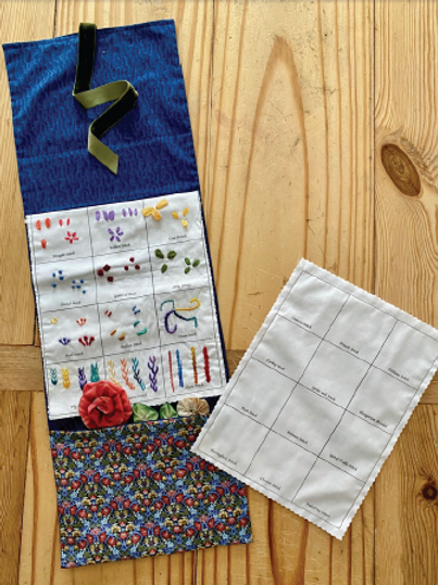 Ribbon and Embroidery Sampler Booklet