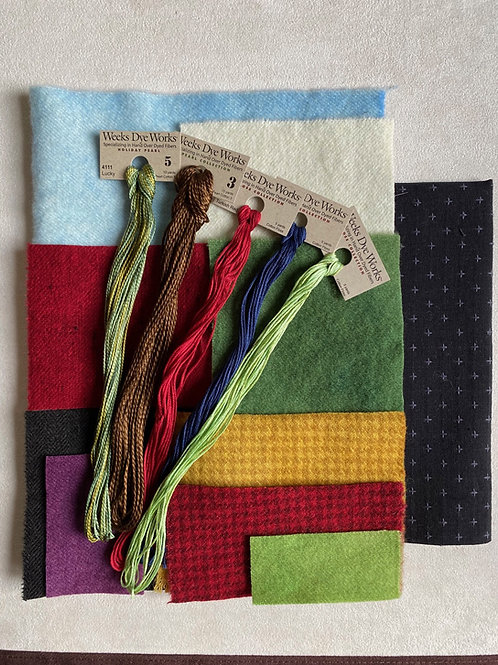 April Showers Hand-dyed Thread Kit