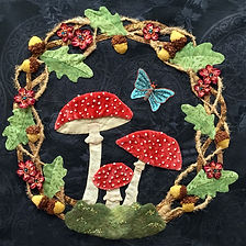 Woodland Reverie mushrooms and oak wreath.jpg