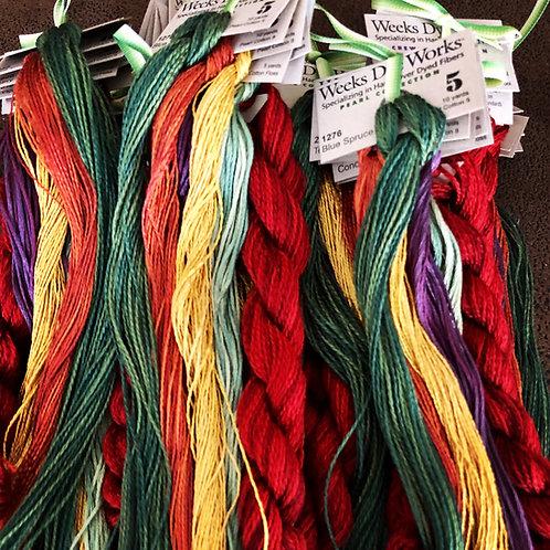 Harvest Basket Thread Kit