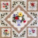 Lovely Botanicals quilt