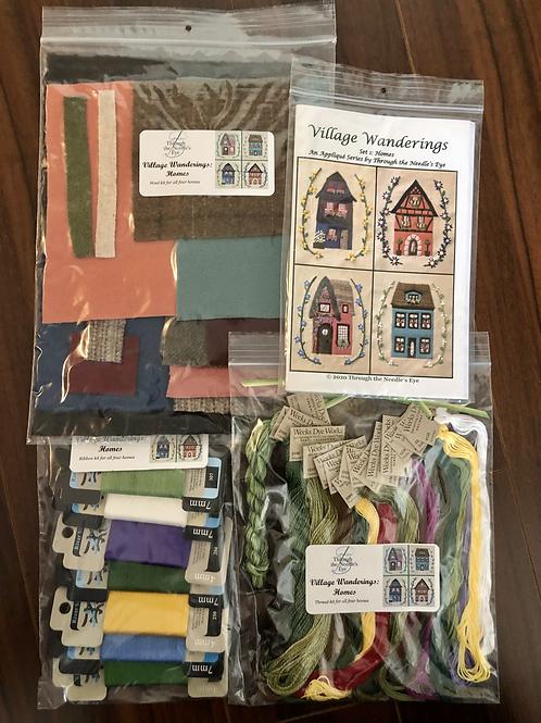Village Wanderings—Homes: Complete Kit