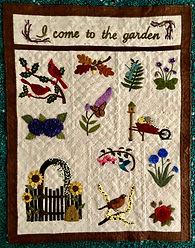 In the Garden quilt