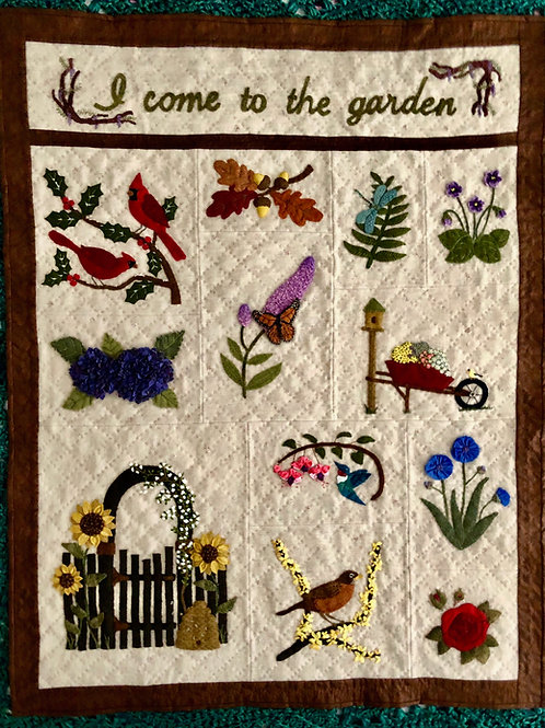 In the Garden: Full Quilt Pattern Set (digital copy)
