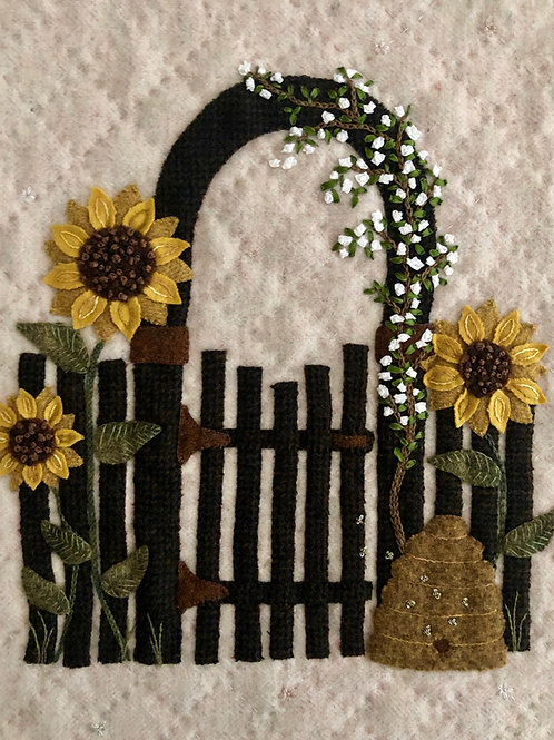 Garden Gate: In the Garden Series (Hard copy with ribbon)