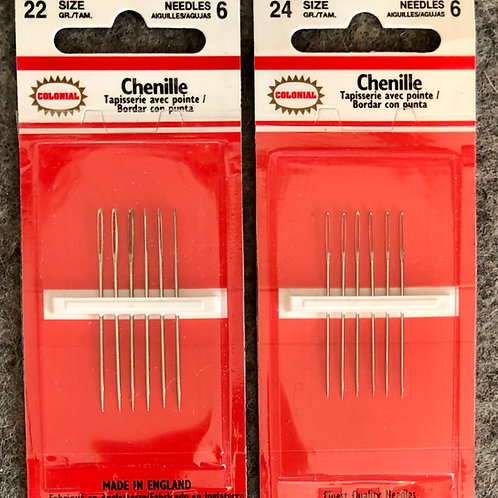 Chenille Needles by Colonial