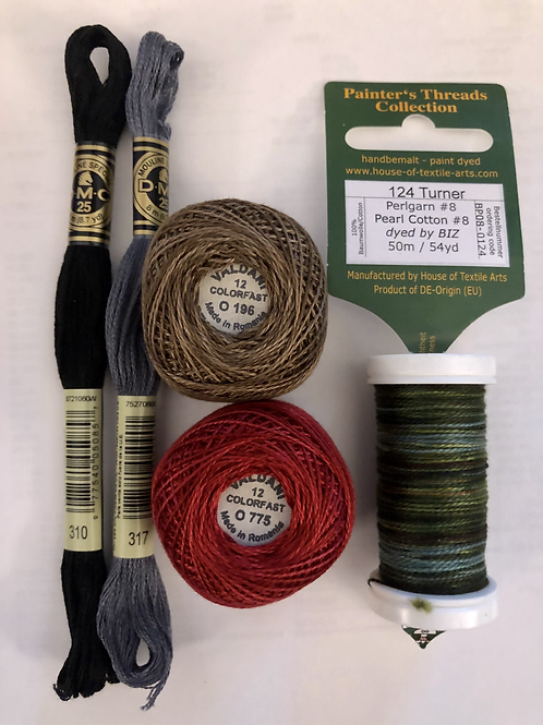 Baby, It's Cold Outside! Thread Kit