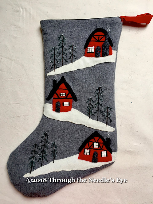 A Cottage Christmas Stocking