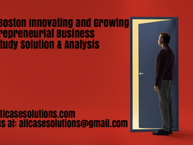 Relax Boston Innovating and Growing an Entrepreneurial Business Harvard Case Study Solution Analysis