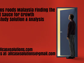 Cepuros Foods Malaysia Finding the Secret Sauce for Growth Harvard Case Study Solution & Analysis
