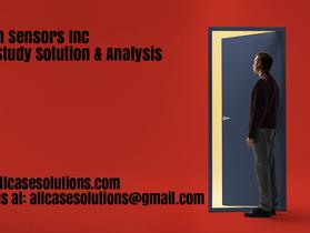 Burton Sensors Inc Harvard Case Study Solution & Online Case Analysis