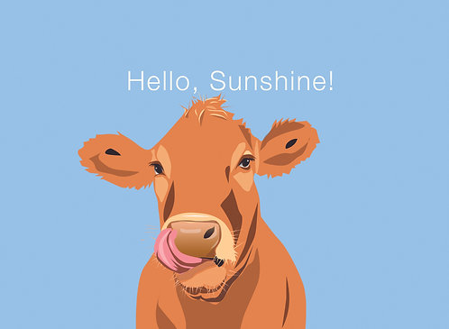 Brown Cow (Single Card)