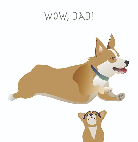 Wow, Dad! (Single Card)