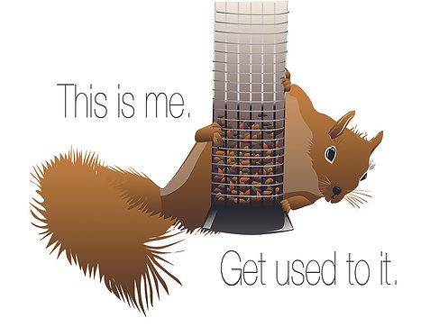 This is Me (Squirrel). (Single Card)
