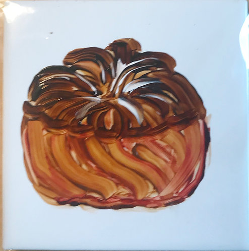 Cruller Donut with Chocolate Icing