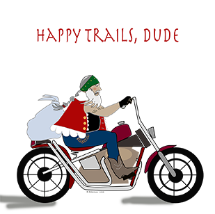 Happy Trails, Dude (Set of 4)