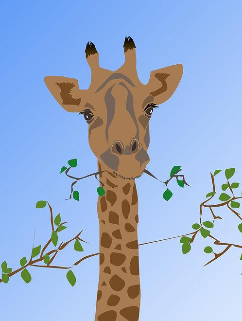 Munching Giraffe (Set of 4)