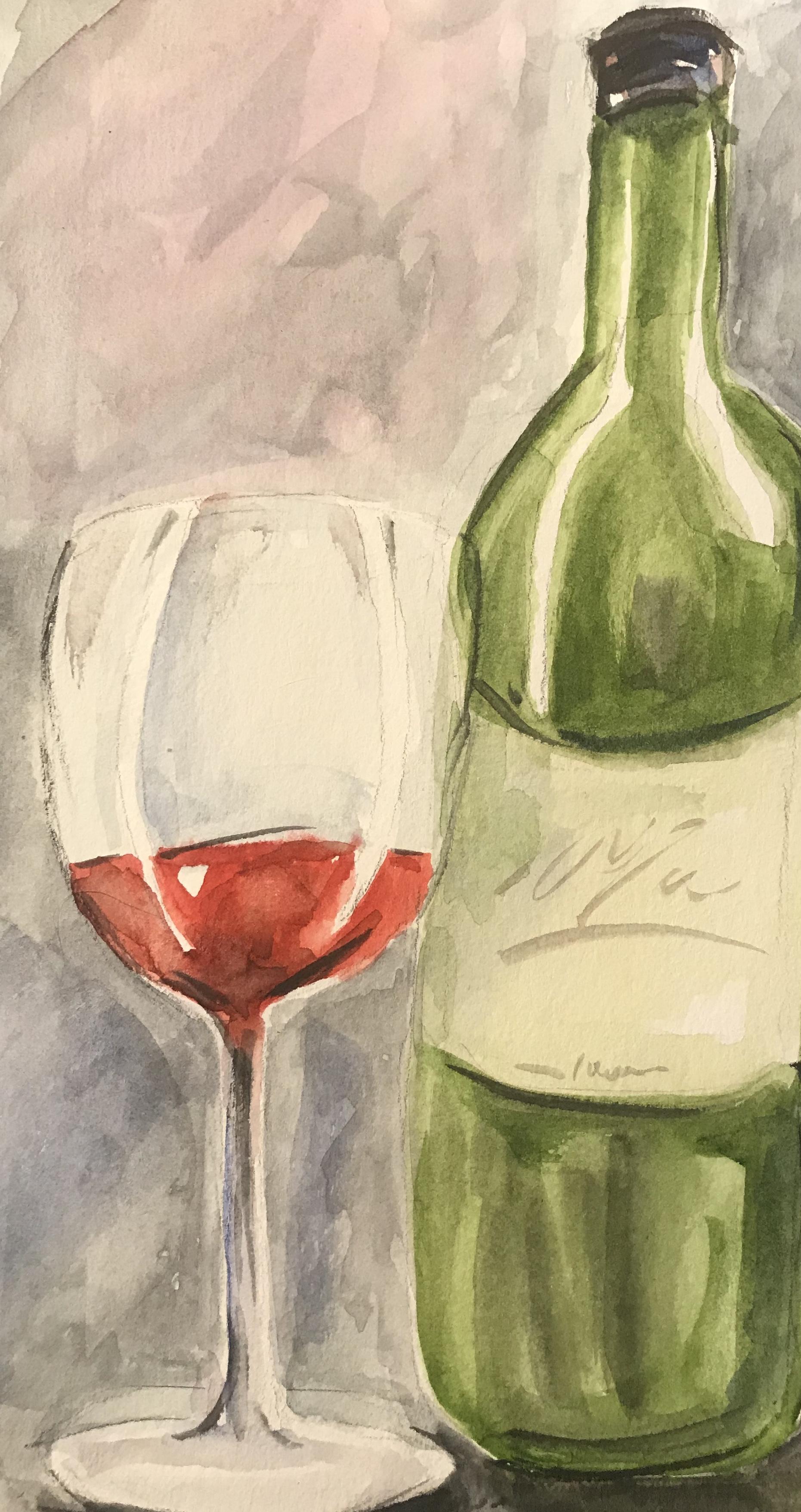 Glass and Wine Bottle.jpg