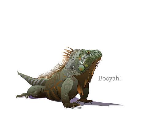 Booyah! Iguana (Single Card)