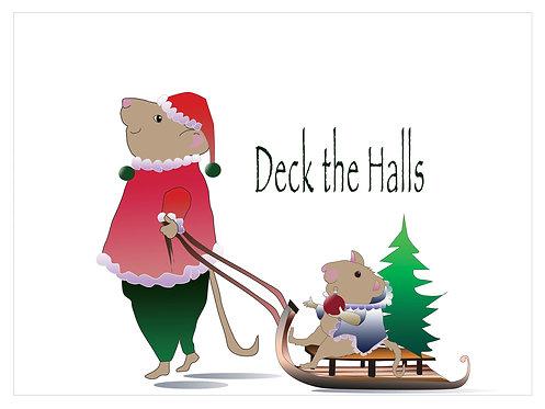 Deck the Halls (Set of 4)