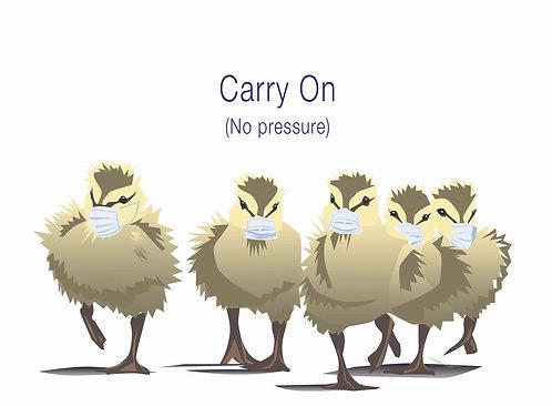 Carry On Birds (Single Card)